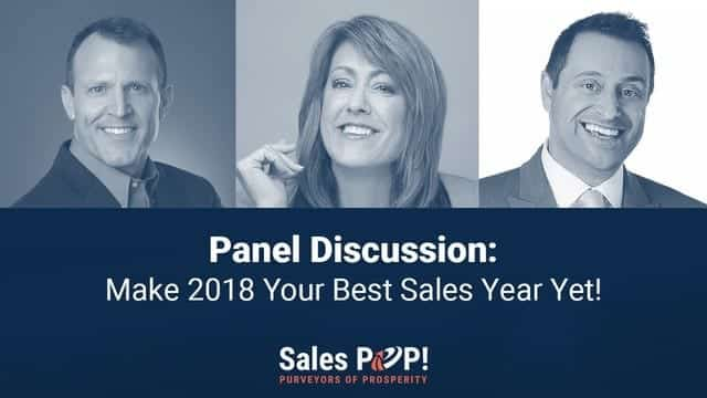 Watch Make 2018 Your Best Sales Year Yet! with John Golden @JohnGoldenFRR @acting4sales @GrowUpSales