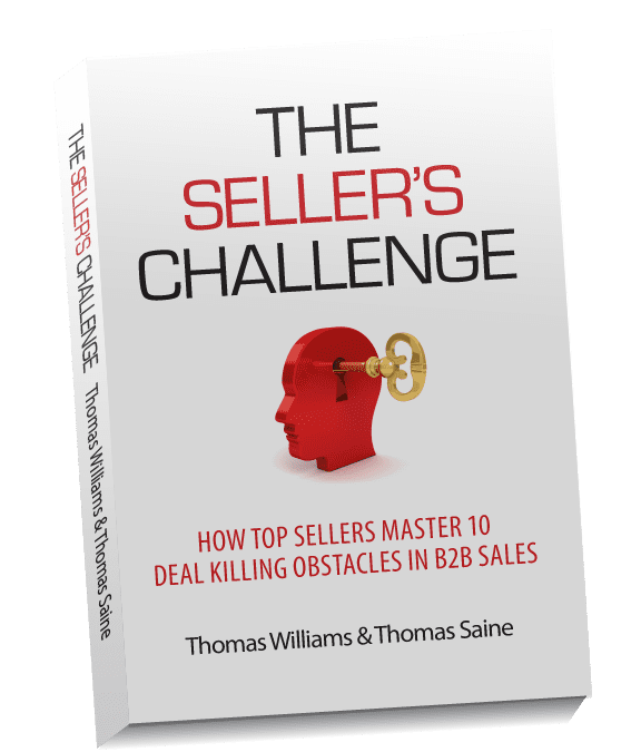 Book Review of The Seller's Challenge by Tom Williams & Tom Saine  @SD_Firm @TomSaine3