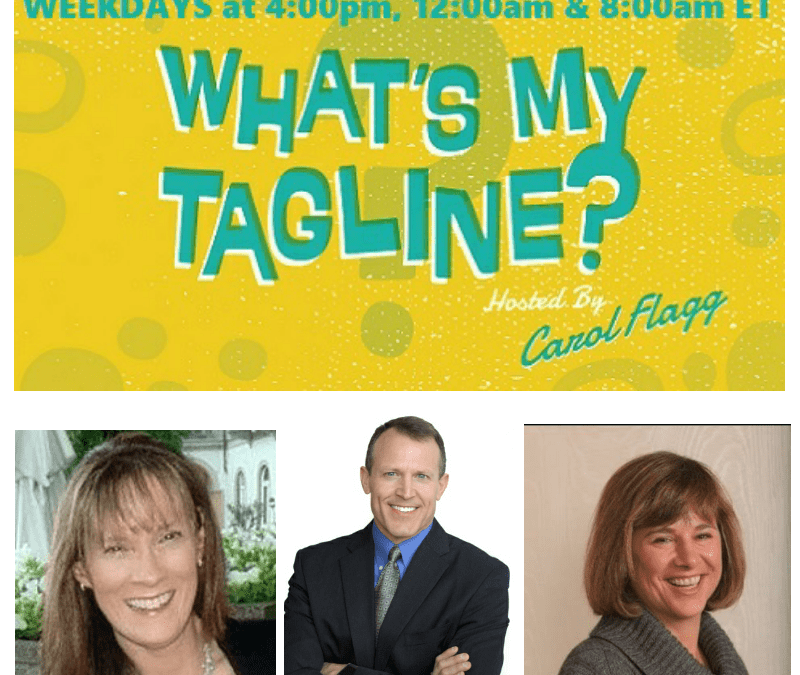Techniques & Science Behind the Perfect Close on the What's My Tagline Podcast w @carolflagg and @janeinmaine